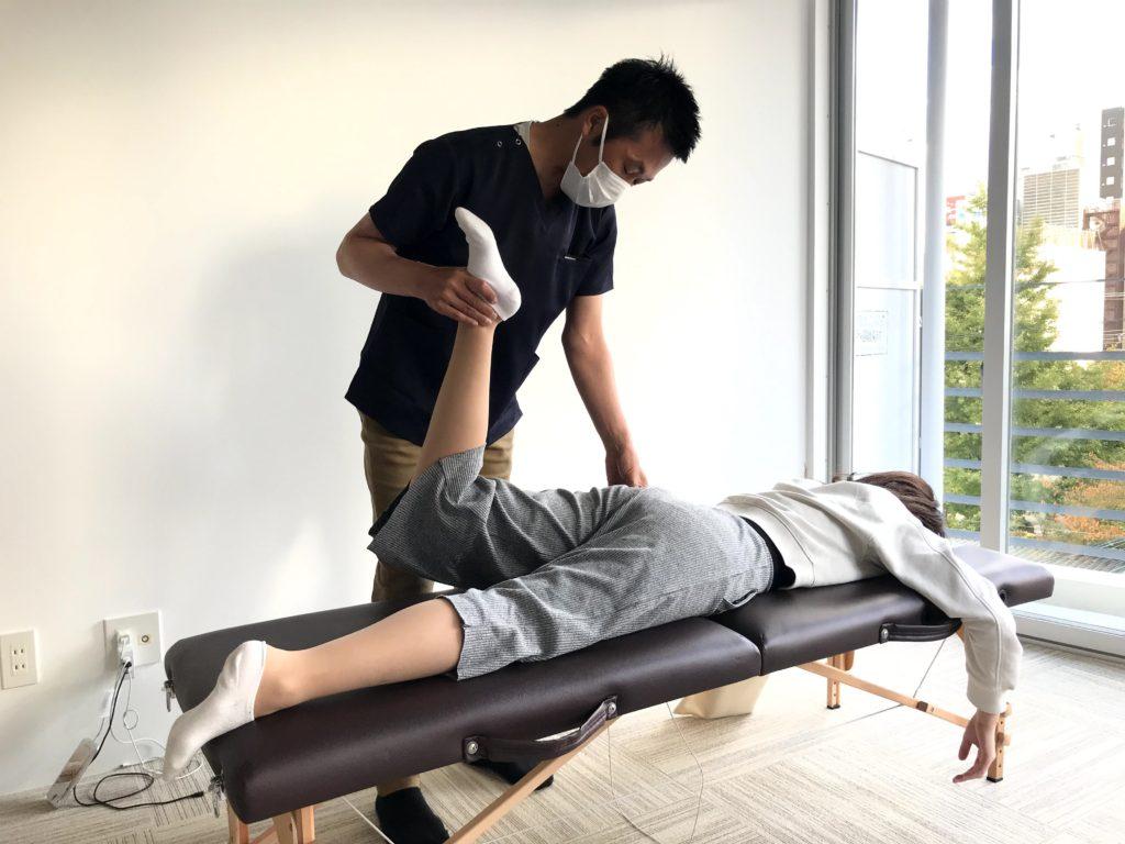 膝の痛みと下半身太りのお悩み